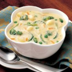 Cheddar Vegetable Soup